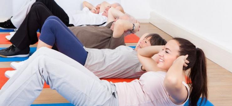 ¡Músculos abdominales sus mejores aliados!